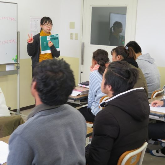 Japanese Department Preparatory Course B (Hagi School)