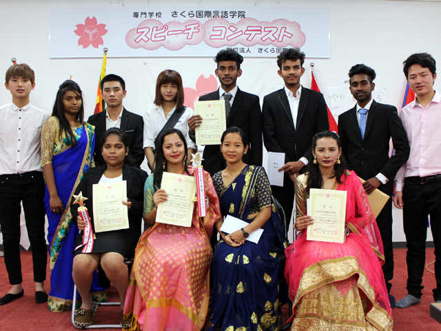 2018 Japanese Speech Contest at Shimonoseki School