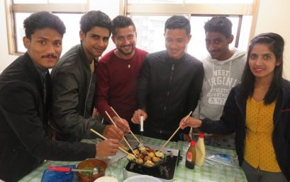 Takoyaki Party – Hagi School