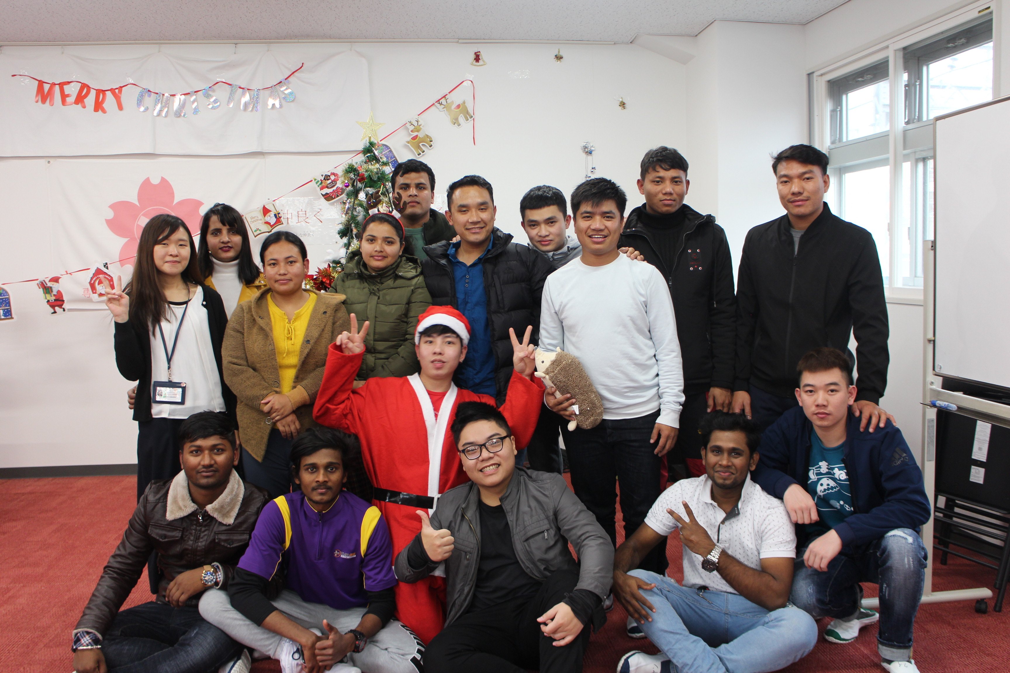2019 Christmas Party at Shimonoseki School
