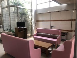 female dormitory-common lounge